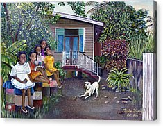 Fair Ladies Acrylic Print by Trister Hosang