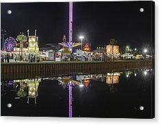 Acrylic Print featuring the photograph Fair Reflections by Judy Hall-Folde