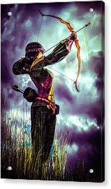 Fair Warning Acrylic Print by Bob Orsillo