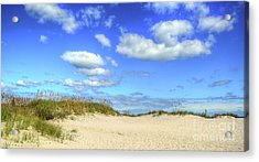 Fair Weather Along The Beach Acrylic Print