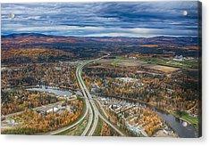 Fairbanks Alaska The George Parks Highway Acrylic Print