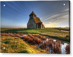 Fairfield Church Acrylic Print