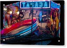 Fairground Attraction Acrylic Print by Brendan Quinn