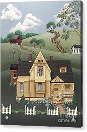 Fairhill Farm Acrylic Print by Catherine Holman