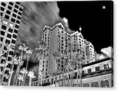 Fairmont From Plaza De Cesar Chavez Acrylic Print