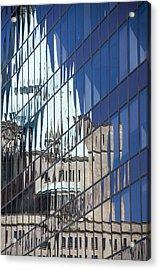 Fairmont Reflections Acrylic Print