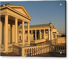 Fairmount Water Works Acrylic Print by Christopher Woods