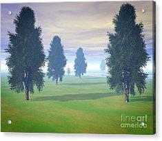 Fairway To Seven Acrylic Print