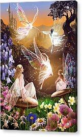 Fairy Ballet Acrylic Print by Garry Walton
