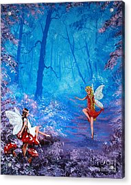 Fairy Dancer Acrylic Print by Jean Walker