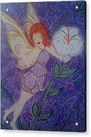 Fairy Harmony  Acrylic Print by Judi Goodwin