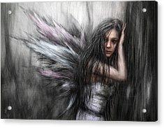 Fairy Acrylic Print by Justin Gedak