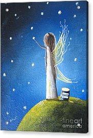 Fairy Maker By Shawna Erback Acrylic Print by Shawna Erback