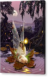 Fairy Princess Acrylic Print