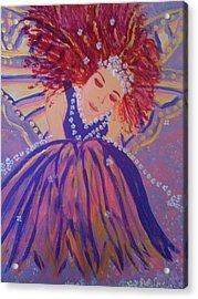 Fairy Remi Acrylic Print by Judi Goodwin