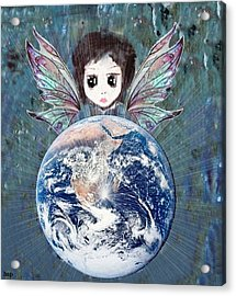 Fairy Star Acrylic Print by Robert Stagemyer