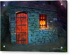 Fairy Tale Cabin Acrylic Print