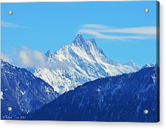 Fairy Tale In Alps Acrylic Print