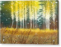 Fairy Trees Acrylic Print