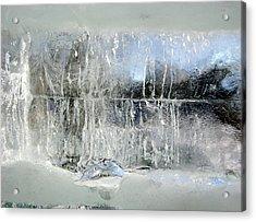 Fairy Winter Acrylic Print by Andr?? Pelletier