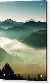 Fairyland Morning Acrylic Print by Mircea Costina Photography