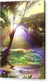 Fairyland Sunset Acrylic Print