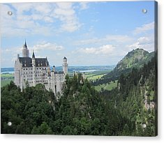 Acrylic Print featuring the photograph Fairytale Castle - 1 by Pema Hou