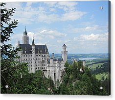 Acrylic Print featuring the photograph Fairytale Castle by Pema Hou