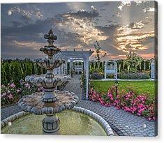 Fairytale Garden Acrylic Print