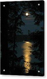 Fairytale Moon Acrylic Print by RJ Martens