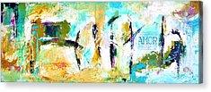 Faith And Amor Acrylic Print