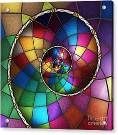 Faith Catcher Acrylic Print by Shawn Young
