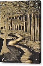 Faith Leads Us Acrylic Print