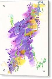 Faith The Final Frontier Acrylic Print
