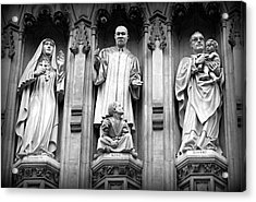 Faithful Witnesses -- Martin Luther King Jr Remembered With Bishop Romero And Duchess Elizabeth Acrylic Print by Stephen Stookey