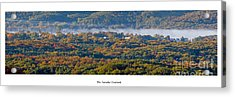 Fall At Arcadia Overlook Acrylic Print by Twenty Two North Photography