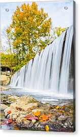 Fall At Buck Creek Acrylic Print by Parker Cunningham