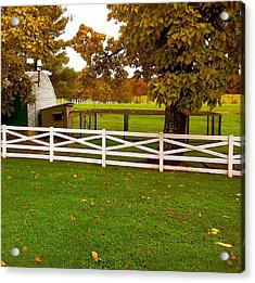 Fall At Eisenhower Farm Acrylic Print