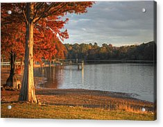 Fall At Georgia Lake Acrylic Print