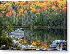 Fall At Sandy Stream Pond Acrylic Print
