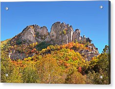 Fall At Seneca Rocks Acrylic Print