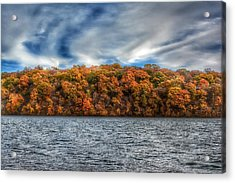 Fall At The Lake Acrylic Print
