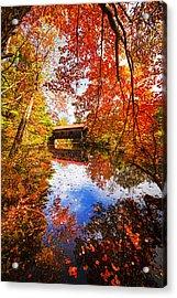 Fall At Waterloo Acrylic Print