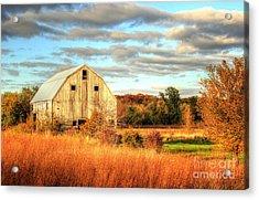 Fall Barn Beauty Acrylic Print