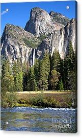 Yosemite National Park-sentinel Rock Acrylic Print by David Millenheft