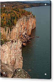 Fall Colors Adorn Palisade Head Acrylic Print