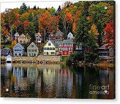 Fall Days Acrylic Print