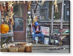 Fall Farmer's Market Acrylic Print