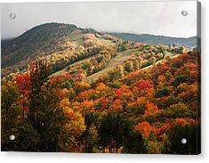 Fall Foliage On Canon Mountain Nh Acrylic Print