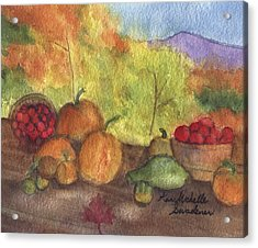 Fall Harvest Acrylic Print